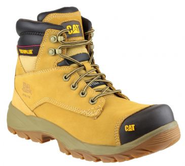 Caterpillar CAT Spiro Work Safety Boots (Honey)